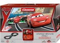 Carrera 1/32 コースセット ◆『CARS2』 Disney/Pixar マックィーン & フランチェスカ 2台・コントローラー・電源フルセット  待望の1/32     只今SALE特価!・送料も無料!★親子でレースを!!