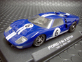 NSR 1/32スロットカー  1060◆Ford GT40 MK-Ⅱ  Blue #6/ LeMans 24Hours 1966         激速・NSR★SHARK20000rpm/SW 再入荷!