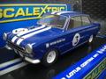 Scalextric 1/32 スロットカー  c3210◆Ford Lotus Cortina  #3/ NaputuneRacingTeam 1964   新製品!★前後ライト点灯
