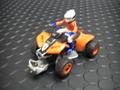 """PowerSlot 1/32スロットカー   ◆4輪バギー """"SLOT QUAD""""  <Orange>   あの商品が再入荷!★数量限定・お年玉超特価!早い者勝ちです!"""