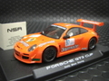 "NSR 1/32 スロットカー   1089◆Porsche 997 GT3 RSR ""Jagermeister"" #97 Kelly Moss Racing    KING 21000rpm/アングルワインダー   人気のイエーガー★正規輸入品!"