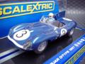 Scalextric 1/32 スロットカー  C3205◆JAGUAR D-Type XKD606    LeMans 1957 Winner       ライト点灯・直輸入品 ★海外より再入荷!