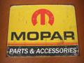 """アンティーク """"ブリキの看板"""" ◆MOPAR/PARTS ACCESSORIES  American Garage Scene  インテリアに!ガレージに!  30%OFF・安いよ!★ブリキ製"""