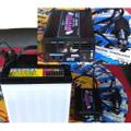 【停電対策/アウトドア】インバーター&バッテリーセット(55B24(DC12V)→AC100V電源)