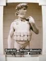 Banksy/バンクシーブリストル美術館ポスター David(デビッド)