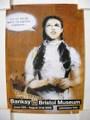 Banksy/バンクシーブリストル美術館ポスター Dorothy(ドローシー)