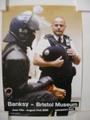 Banksy/バンクシーブリストル美術館ポスター Copper(警官)