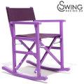 Swingdesign ロッキングチェアー 紫 [Arenal]