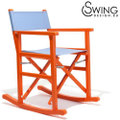 Swingdesign ロッキングチェアー オレンジ [Manzanillo]