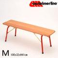 【送料無料】No.08-M 折りたたみ木製ベンチM (100 X 32cm)