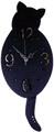 シルエット振り子時計