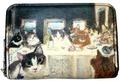 カード&小銭入れ(猫たちの最後の晩餐)