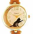 腕時計ガット(ブラウン)