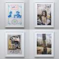 RISO print series「ancco/Ben Rayner/B.Thom Stevenson/Clint Woodside」