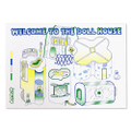 "ancco ""Welcome To The Dollhouse"" RISO print"