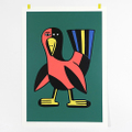 "Andy Rementer Screen-Print ""BIRD"""