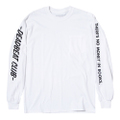 DEADBEAT CLUB L/S POCKET Tshirt