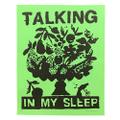 """Talking in My Sleep""  B.Thom Stevenson (Screen Printed on neon paper)"