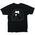 "Andy Busc × commune,Tokyo ""THE LOOKS"" Tshirt [BLACK]"