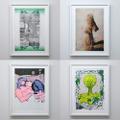RISO print series「Jen Shear/Jim Mangan/Kei Minamoto/Kevin Harris」