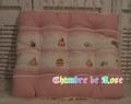 パティスリー Lace ピンク スクエアクッション Lサイズ