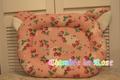 猫耳ベッド  Mサイズ イチゴドイリーピンク