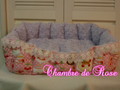 ピンクスイーツ スクエア型ベッド