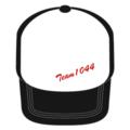 ★TEAM1044白黒キャップ★