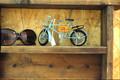 アンティーク調ブリキ自転車
