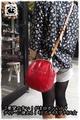 【New!がま口】SERIOUS 牛革がま口ショルダーポシェットバッグ(ポーチ)26121【長財布】【斜め掛け】【肩掛け】【口金】【鞄】【レザー】【レディース】【婦人用 女性用】【オシャレ】【可愛い】【大人】【ポシェット】