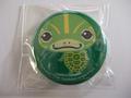 亀の缶バッチ「キバラガメ」