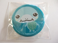 亀の缶バッチ「ミシシッピチズガメ」