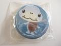 亀の缶バッチ「キタキスイガメ」