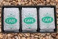 おいしいコーヒー豆お試しセット【スペシャル(ブルマン)ブレンド豆+ブラジル豆+コロンビア豆】