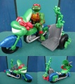TMNT/TOON CYCLE(Loose)