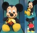 ミッキーマウス/ぬいぐるみ(38cm/C)