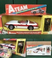 A-TEAM/ACTION CORVETTE PLAYSET(箱付)