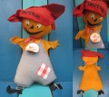 Scarecrow Pumpkin/ドール(1960s)
