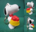 Snoopy/PVCキーホルダー(D)