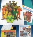 ミッキーマウスクラブ(ポスター付き)/レコード(LP-A)