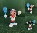 ミッキーマウス/PVCフィギュア(80s/テニス)