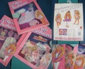 1989 MATTEL/Lil Miss Fashions SET
