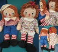 Raggedy Anne&Andy/セット(40s/40cm)