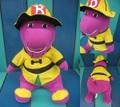 Barney/ぬいぐるみ(消防士/55cm)