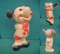 ミッキーマウス/ソフビ(60s/DELL/花)