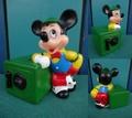 ミッキーマウス/コインバンク(80s/14cm)