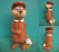 Yogi Bear/ソフビ(70s/Mexico)