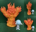 AD&D/Fire Elemental(Loose)