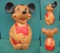ミッキーマウス/ラバーコインバンク(60s)