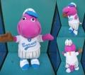 Barney/ぬいぐるみ(野球)